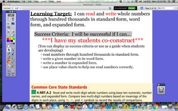 GoMath Grade 4 Chapter 1 Lesson 2 Promethean Lesson