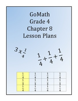 GoMath Grade 4 Chapter 8 Lessons