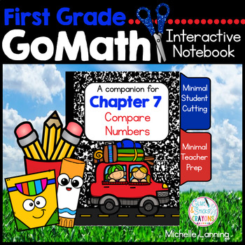 First Grade Math Interactive Notebook, Compare Numbers - Chapter 7