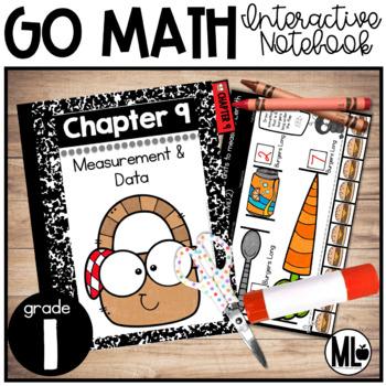 First Grade Math Interactive Notebook, Measurement- Chapter 9
