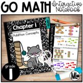 First Grade Math Interactive Notebook, Addition Concepts - Chapter 1