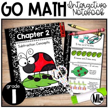 First Grade Math Interactive Notebook, Subtraction Strategies - Chapter 2