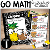 Go Math Interactive Notebook, Addition Strategies - Chapter 3-First Grade