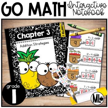 First Grade Math Interactive Notebook, Addition Strategies