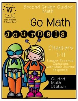GoMath Journal Bundle Chapter 1-11