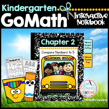 GoMath-Kinder Interactive Notebook Chapter 2 - Compare Numbers to 5