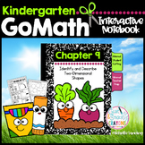 GoMath-KinderInteractiveNotebook Chapter9-Identify&Describe 2-Dimensional Shapes