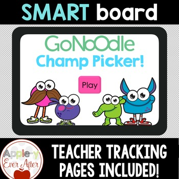 GoNoodle Champ Picking Game