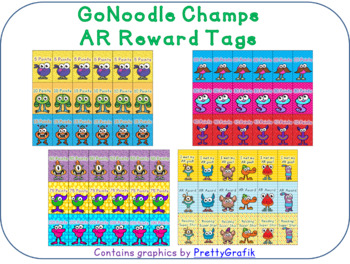 GoNoodle Champs AR Brag Tags