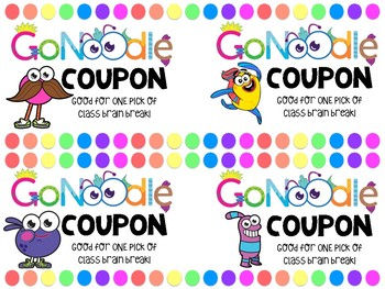 GoNoodle Coupons