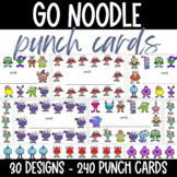 GoNoodle Punch Cards