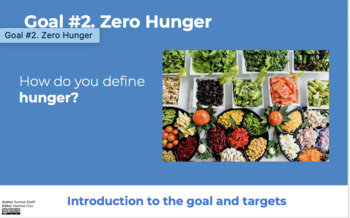 Goal 2: No Hunger (Sustainable Development Goal)