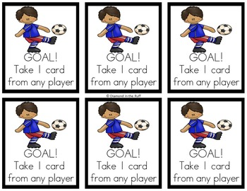 A Digraph Game: Goal!