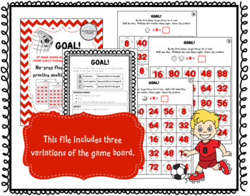 Goal: A Multiplication Fact Game for Fluency with 8s