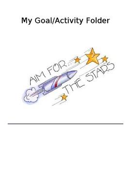Goal/ Activity Folder