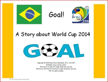 Goal! An Adapted Book about World Cup 2014