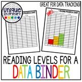 Data Binder: Reading Level Graphing