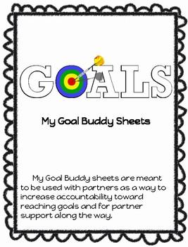 Goal Buddy Sheets