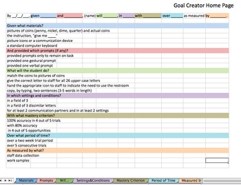 Goal Creator