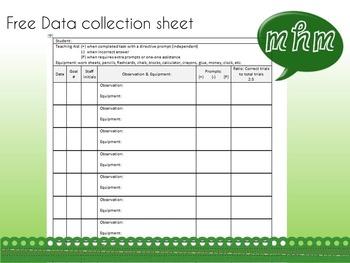 Goal Data Collection