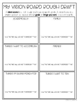 Student Goal Setting Activities