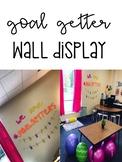 Goal Getter Wall