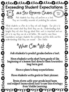 Goal!: Helping Students Set and Reach Goals