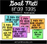 Goal Met! Brag Tags