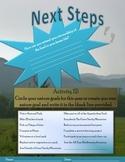 Goal Planning Sheet for Environmental Stewardship