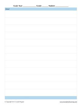 Goal Planning Worksheet
