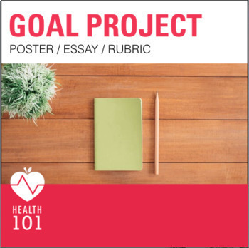 NEW YEAR RESOLUTIONS: Goal Setting Poster and Essay Project