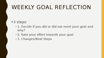 Goal Reflection