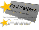 Goal Setters Certificate of Accomplishment