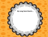 Goal Setting Graphic Organizer: Set Character, Academic, Personal Goals