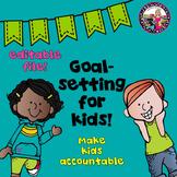 Goal Setting Reading Writing Math