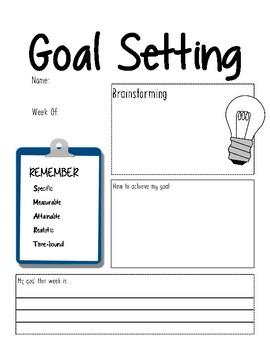 Goal Setting!