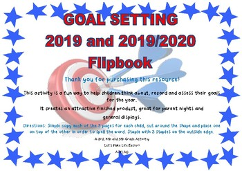 Goal Setting Flipbook 2018 and 2018/2019