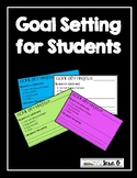 Goal Setting- A Test Prep Resource