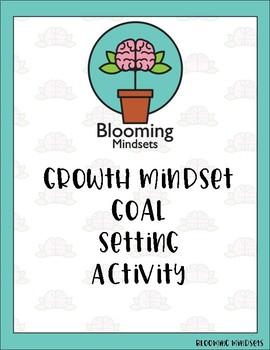 Growth Mindset Goal Setting Activity