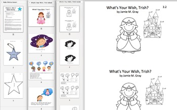 Goal Setting Activity-Make Wishes (Happy U, Step 2)