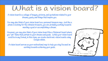 Goal Setting Activity-Vision Boards