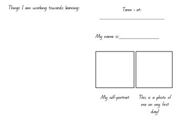 Goal Setting Booklet Template