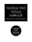 Goal Setting Bookmark -- Growth Mindset During Literacy Instruction **FREEBIE!**