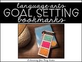 Goal Setting Bookmarks