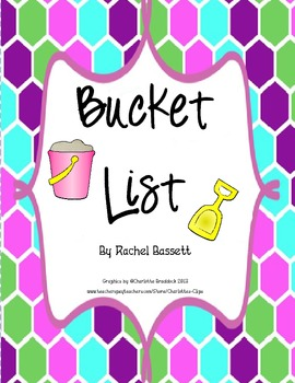 Goal Setting Bucket List