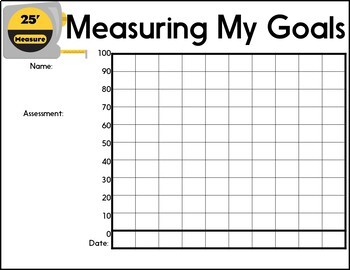 Back to School Goal Setting Editable Bulletin Board | Constructing a Great Year