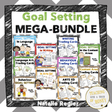 Goal Setting Sheets For Students - Assessment and Reflection BUNDLE