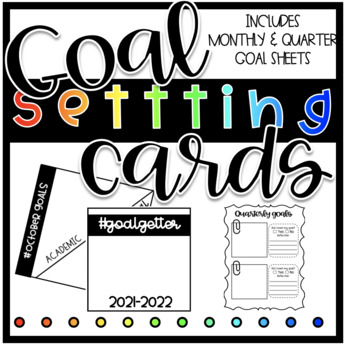 Goal Setting Cards ( Target Square Labels)