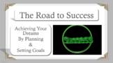 SMART Goal Setting 1 Career Exploration  Study Skills No Prep SEL Lesson w 3 vid