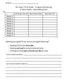 Goal Setting Chart - Fluency